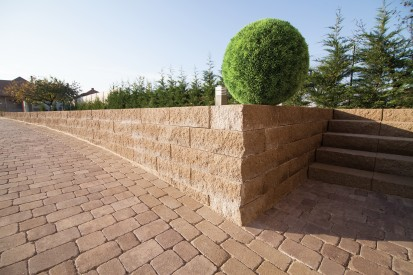 Bloc zid de colt Premium - vazut de aproape Premium colt Blocuri de zid de colt