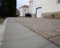 Rigole din beton compact pentru terasa si gradina