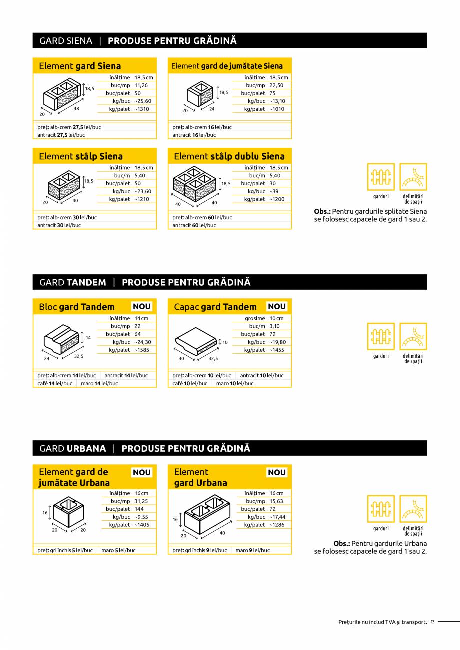 Pagina 13 - Oferta de produse Elis_Editia Februarie 2021 - Rigole din beton compact pentru trafic...
