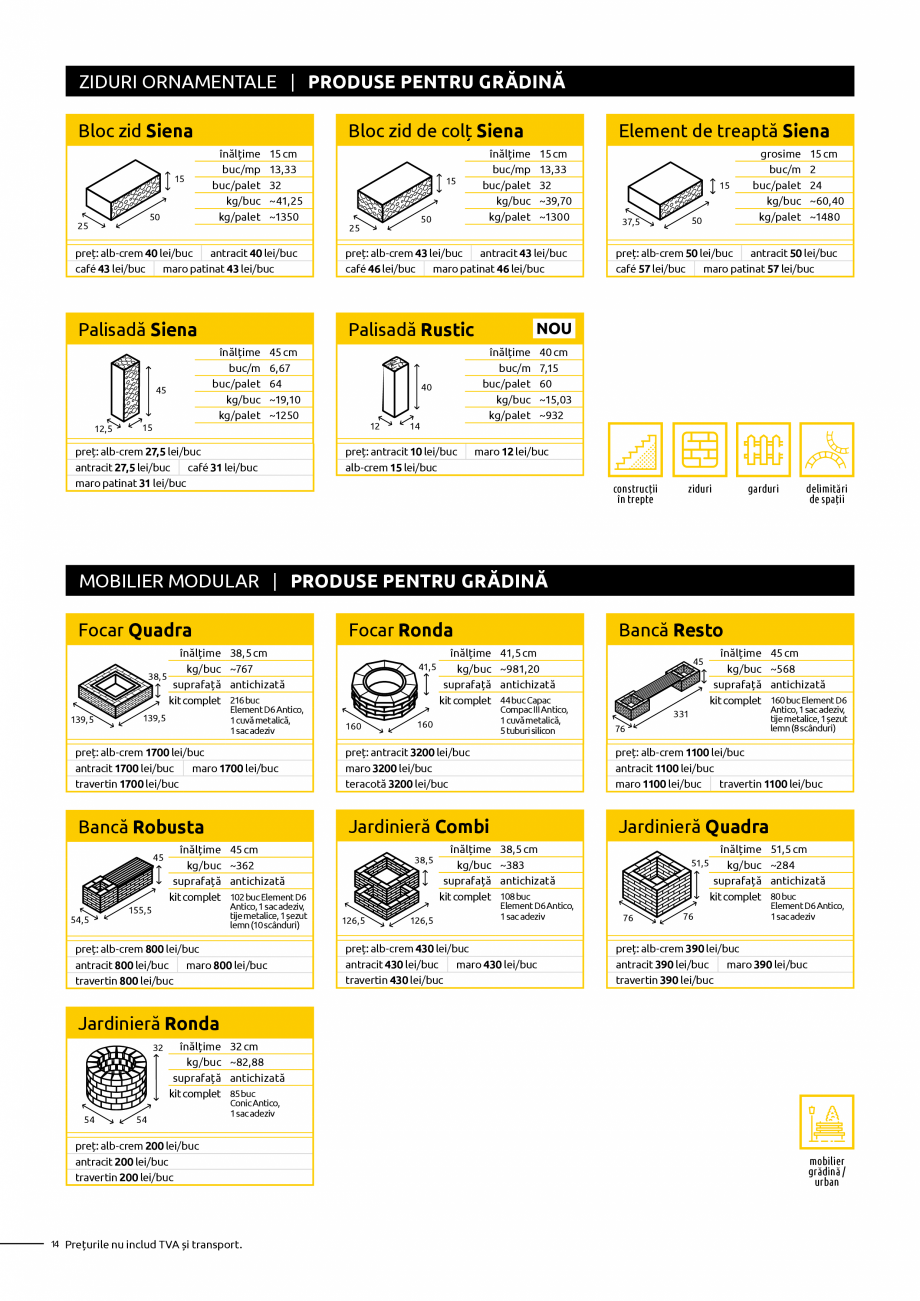 Pagina 14 - Oferta de produse Elis_Editia Februarie 2021 - Rigole din beton compact pentru trafic...
