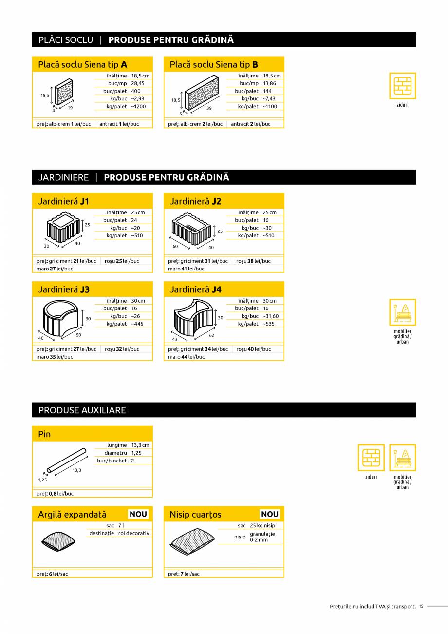 Pagina 15 - Oferta de produse Elis_Editia Februarie 2021 - Rigole din beton compact pentru trafic...