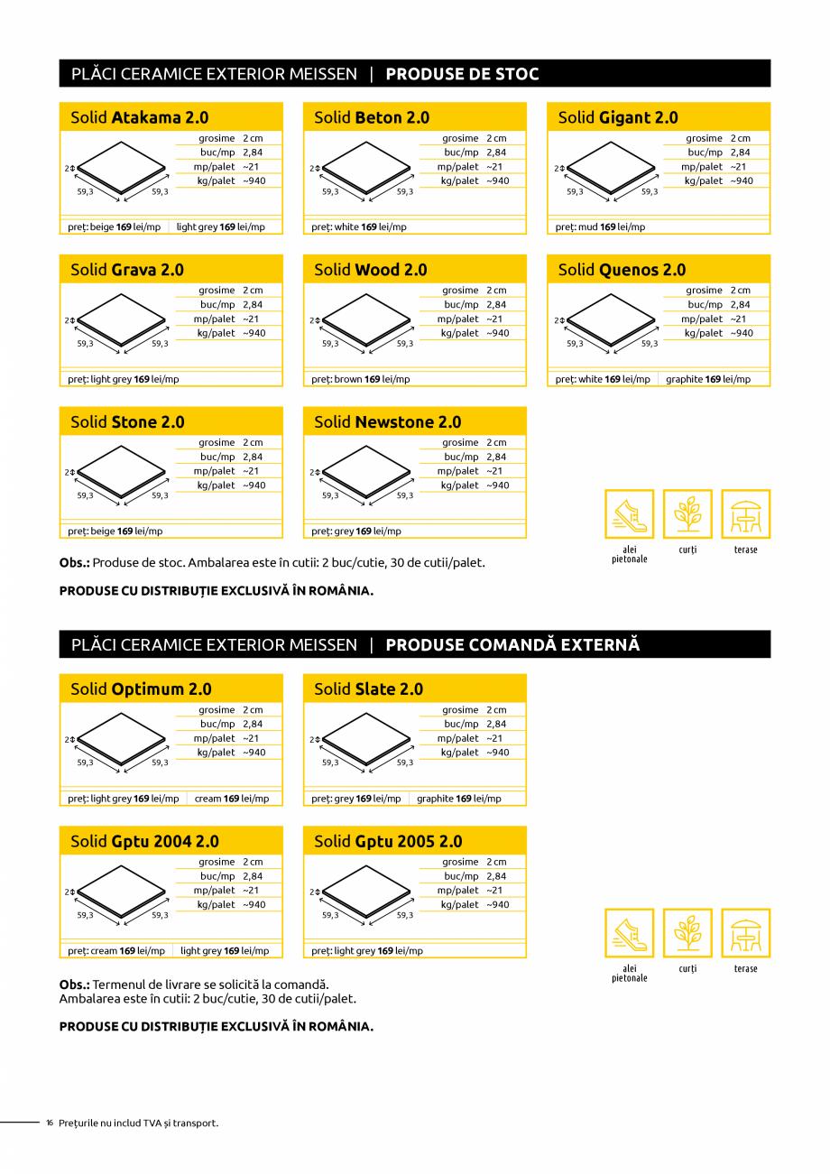 Pagina 16 - Oferta de produse Elis_Editia Februarie 2021 - Rigole din beton compact pentru trafic...