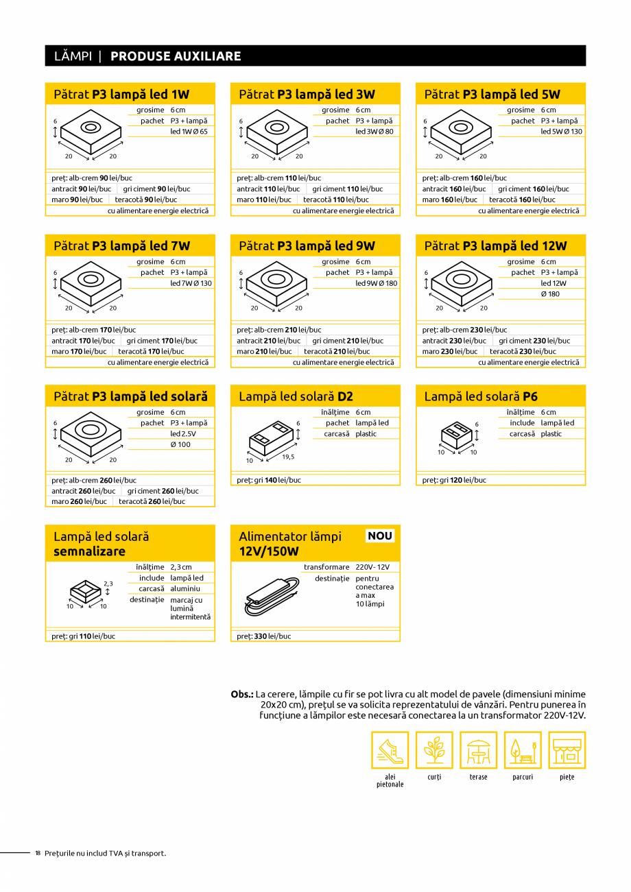 Pagina 18 - Oferta de produse Elis_Editia Februarie 2021 - Rigole din beton compact pentru trafic...