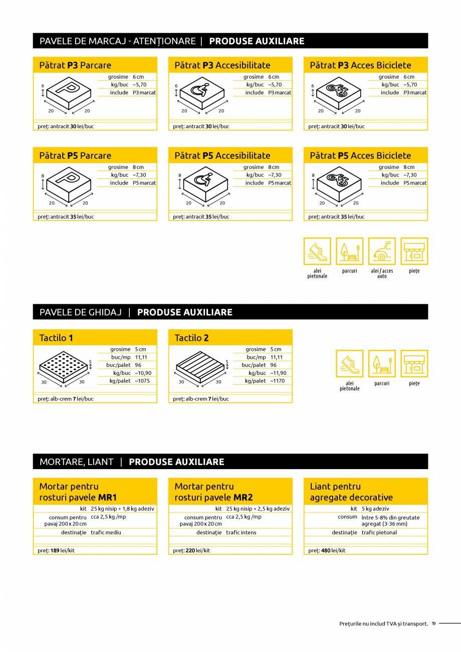 Pagina 19 - Oferta de produse Elis_Editia Februarie 2021 - Rigole din beton compact pentru trafic...
