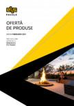 Garduri modulare din beton vibropresat - Oferta de produse - februarie 2021 ELIS PAVAJE