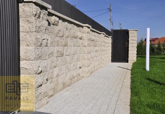 Capace pentru stalpi de gard, garduri de beton ELIS PAVAJE