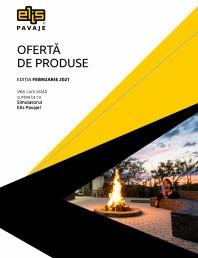 Oferta de produse Elis Pavaje - Editia Februarie 2021- Placi de soclu Siena