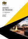 Oferta de produse Elis Pavaje - Editia Februarie 2021 - Mobilier din beton pentru curte si