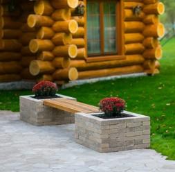 Mobilier din beton pentru curte si gradina ELIS PAVAJE