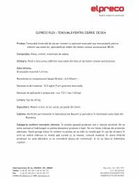 Tencuiala pentru zidarie de BCA - ELPRECO FLEX