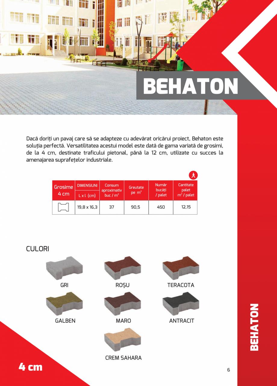 Pagina 6 - Pavaj rezidential din beton ELPRECO BDZ, BDZN, BDZR, BDZT1, BDZT2, EKOPOR, CIVIC,...