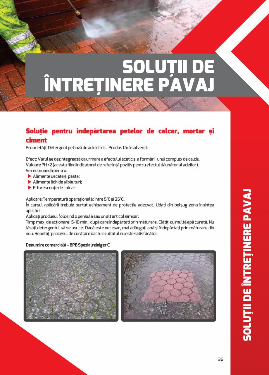 Pagina 36 - Pavaj rezidential din beton ELPRECO BDZ, BDZN, BDZR, BDZT1, BDZT2, EKOPOR, CIVIC,...