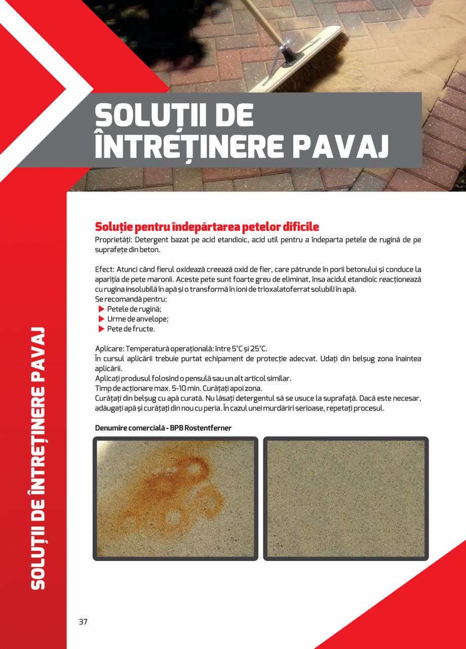 Pagina 37 - Pavaj rezidential din beton ELPRECO BDZ, BDZN, BDZR, BDZT1, BDZT2, EKOPOR, CIVIC,...