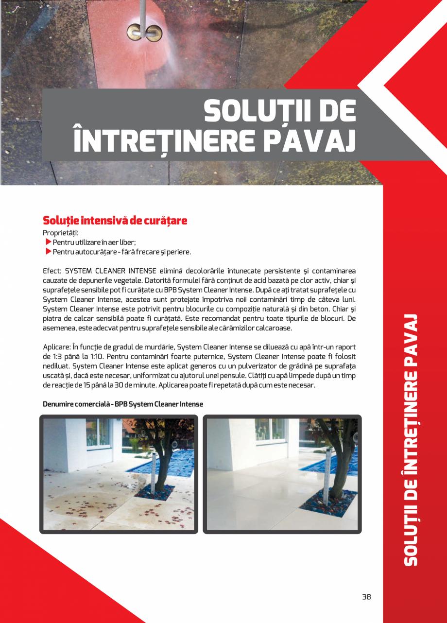 Pagina 38 - Pavaj rezidential din beton ELPRECO BDZ, BDZN, BDZR, BDZT1, BDZT2, EKOPOR, CIVIC,...