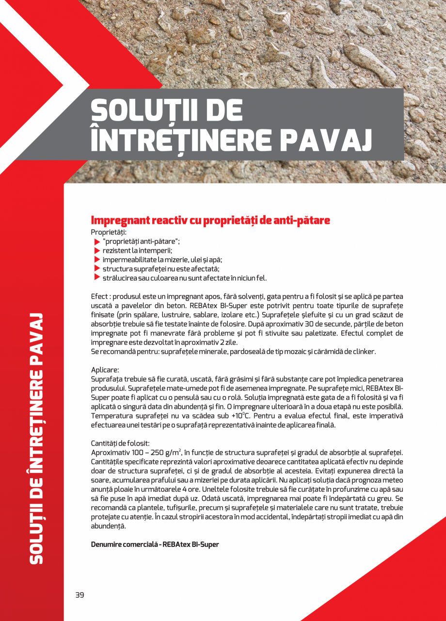 Pagina 39 - Pavaj rezidential din beton ELPRECO BDZ, BDZN, BDZR, BDZT1, BDZT2, EKOPOR, CIVIC,...
