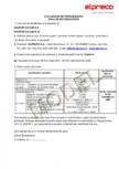 Dale din beton - Declaratie de performanta ELPRECO - EKOPOR