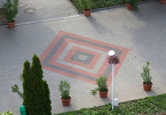 Pavaje si borduri din beton pentru amenajari exterioare ELPRECO