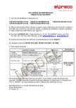 Declaratie de performanta -Tuburi D1200 D2000 ELPRECO - Tub cu cep Tub cu mufa Tub de