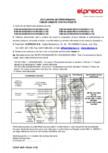 Tuburi armate podete - Declaratie de performanta ELPRECO - Tub cu cep Tub cu mufa Tub