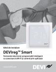 Instructiuni de instalare pentru termostat electronic programabil inteligent DEVI - DEVIreg™ Smart