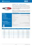 Cablu electric de incalzire si accesorii DEVI - DEVIflex™ 18T