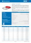 Cablu electric de incalzire, flexibil DEVI - DEVIflex™ 18T