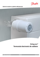 Termostat electronic de radiator DANFOSS