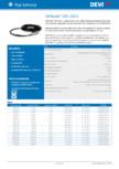 Cablu electric de incalzire DEVI - DEVIsafe™ 20T,230 V