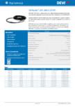 Cablu electric de incalzire  DEVI - DEVIsafe™ 20T, 400 V