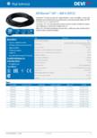 Cablu electric de incalzire  DEVI - DEVIsnow™ 30T - 400 V