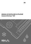 Manual de instalare si utilizare senzorul DeviregTm 850 DEVI -  Devireg™ 850