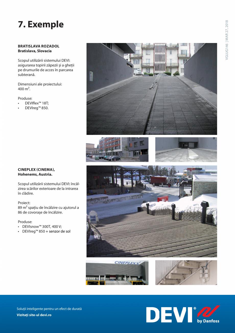 Pagina 24 - Instalarea pe sol. Sisteme de topire a zapezii si a ghetii. Ghid de aplicati DEVI...