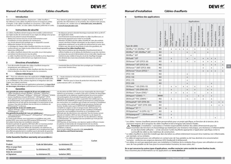 Pagina 12 - Ghid de instalare - cabluri de incalzire DEVI Instructiuni montaj, utilizare Bulgara,...
