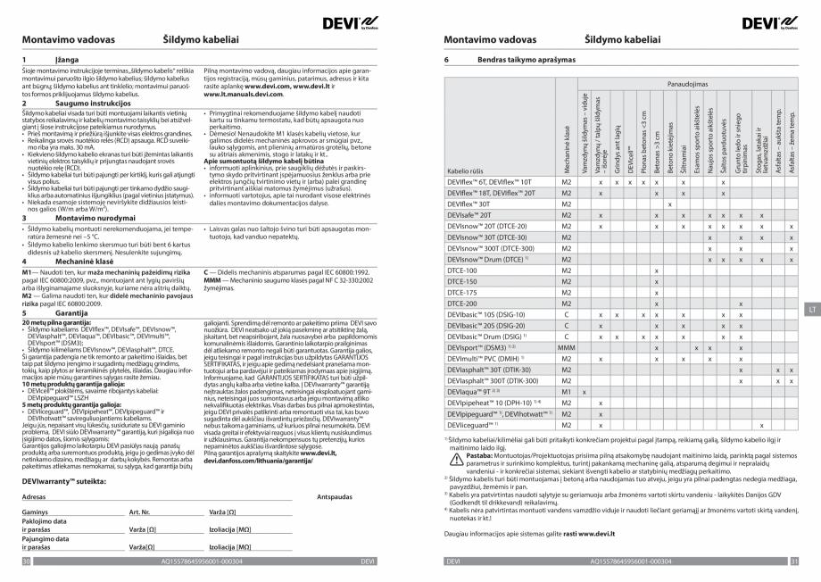 Pagina 16 - Ghid de instalare - cabluri de incalzire DEVI Instructiuni montaj, utilizare Bulgara,...