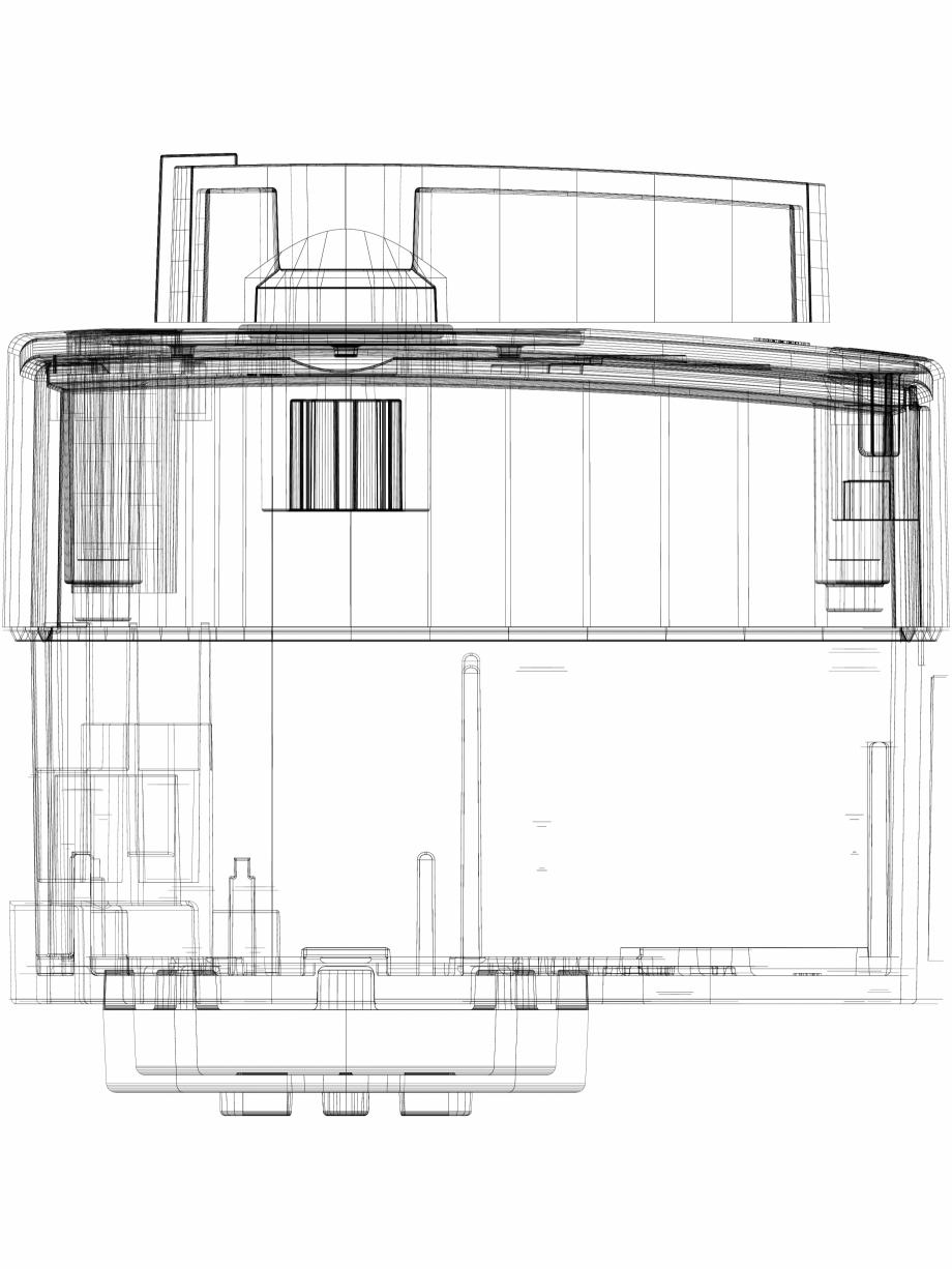 Pagina 1 - CAD-DWG 3D CAD - Servomotor electric rotativ DANFOSS Detaliu de produs AMB 182