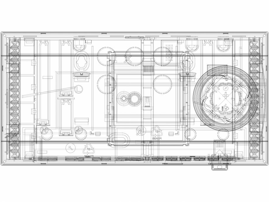 Pagina 1 - CAD-DWG 3D CAD Regulator electronic de temperatura  DANFOSS Detaliu de produs ECL Comfort...
