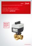Vanele rotative Danfoss si servomotoarele AMB pentru aplicatii in incalzire centralizata DANFOSS