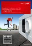 Regulatorul Danfoss ECL Comfort - performante superioare pentru aplicatiile de incalzire si racire DANFOSS - ECL
