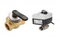 Vane, valve, automatizari pentru incalzire sau racire