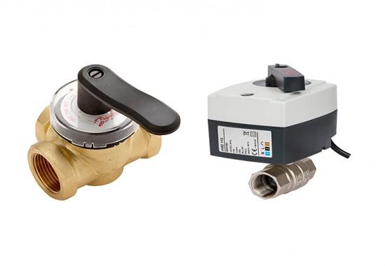 Vane, valve, automatizari pentru incalzire sau racire DANFOSS