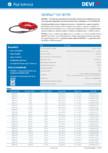 Cablu electric de incalzire flexibil DEVI - DEVIflex™ 10T