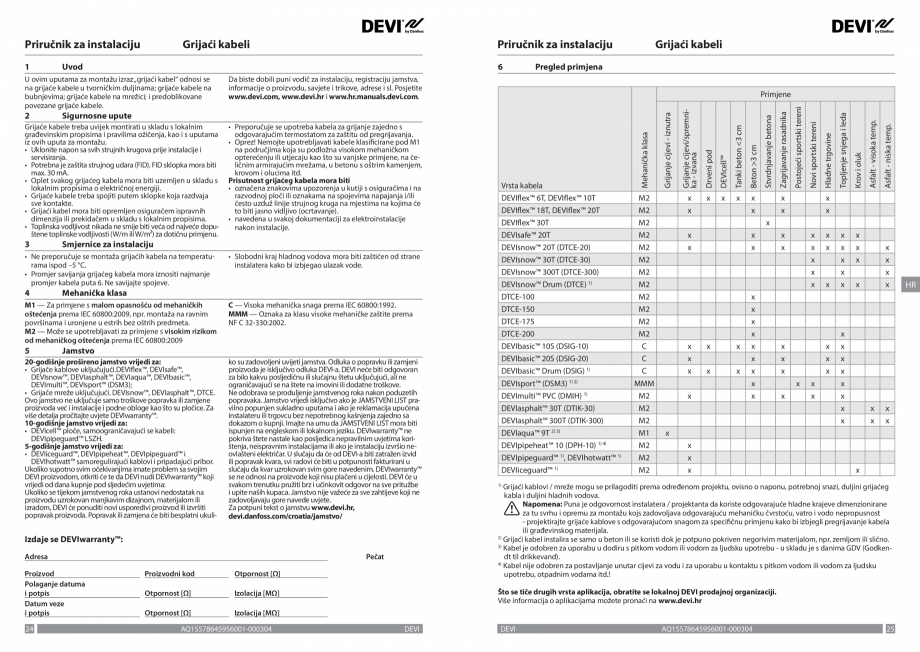 Pagina 13 - Ghid de instalare - Cabluri de incalzire DEVI Catalog, brosura Engleza, Franceza, Romana...