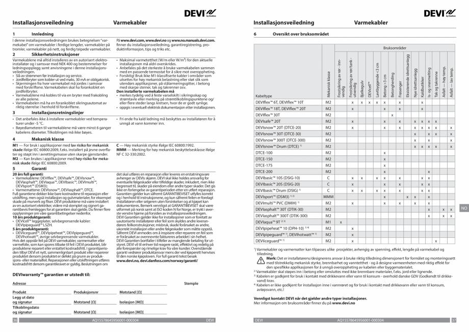 Pagina 19 - Ghid de instalare - Cabluri de incalzire DEVI Catalog, brosura Engleza, Franceza, Romana...