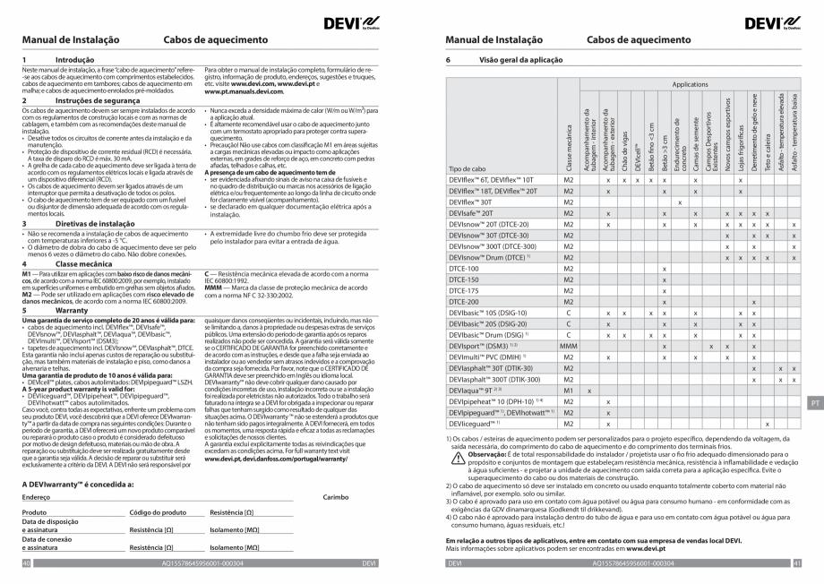 Pagina 21 - Ghid de instalare - Cabluri de incalzire DEVI Catalog, brosura Engleza, Franceza, Romana...