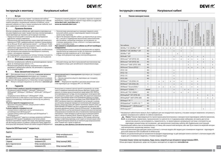 Pagina 29 - Ghid de instalare - Cabluri de incalzire DEVI Catalog, brosura Engleza, Franceza, Romana...