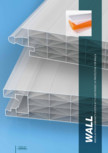 Sistem modular policarbonat structurat GEPLAST - NUT-FEDER WALL