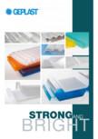 Sisteme policarbonat pentru luminatoare GEPLAST