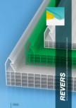 Sistem policarbonat pentru pereti cortina si acoperisuri GEPLAST - REVERS