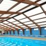 Acoperis piscina realizat din panouri din policarbonat - Hythe Swimming Pool