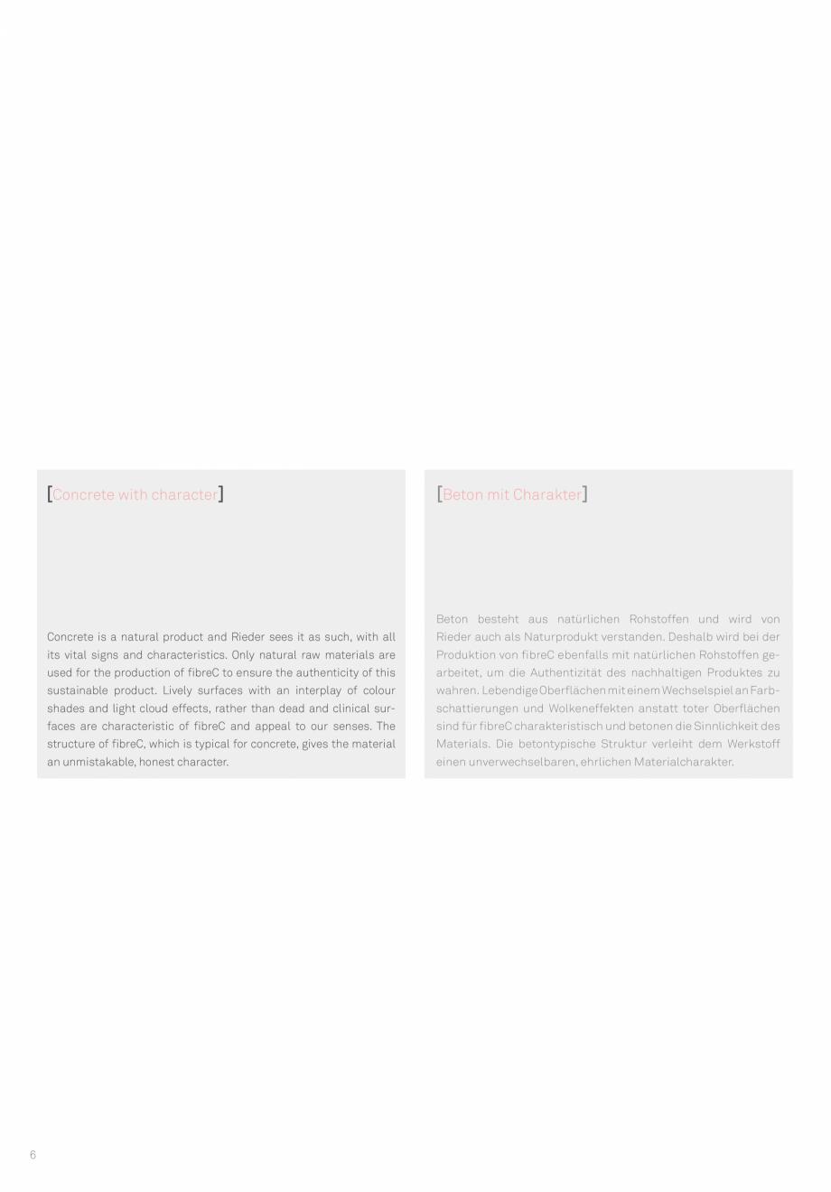 Pagina 8 - Panouri din beton aparent RIEDER Concrete Skin Lucrari, proiecte Engleza  Chrome  in 12...